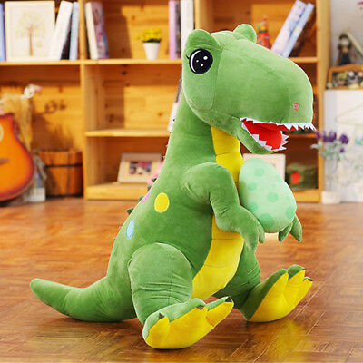 60cm Giant Huge Big Anime Tyrannosaurus Rex Dinosaur Doll Plush Toys Animal Gift