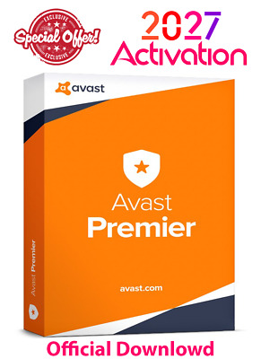 Avast Premier AntiVirus 2019🔥 3-PCs 💻8 Years License key 🔑Instant Delivery 📩