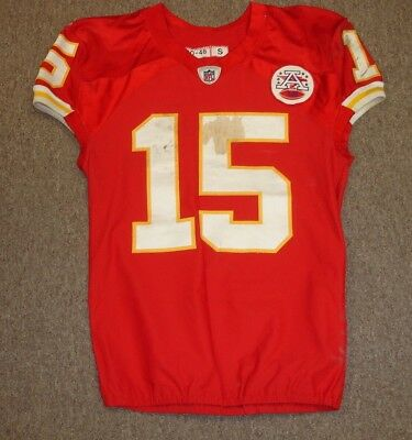 adf00b38b 2011 Steve Breaston Kansas City Chiefs Game Used Jersey  15
