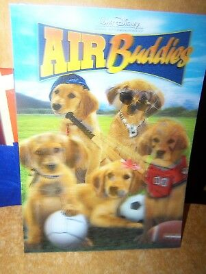 Disney AIR BUDDIES  3d lenticular card