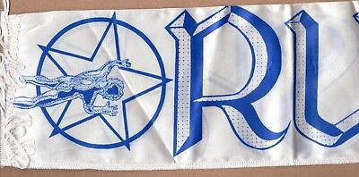 Rush All The World's A Stage vintage 1980s CONCERT SCARF
