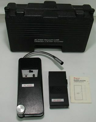 SNAP-ON AC6500 (Vacuum Leak Detector) with AC6501 Transmitter