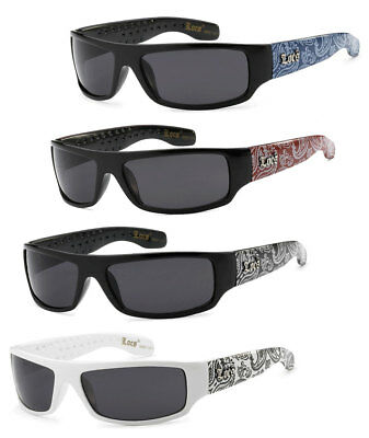 6e7b6b55dc14 Retro Locs Black OG Biker Shades Original Gangster Shades BDNA Mens  Sunglasses