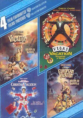 NEW - 4 Film Favorites: Vacation Collection (Canadian Import)