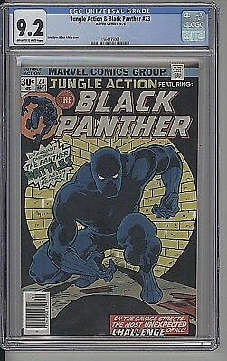 Jungle Action #23 1976 Black Panther Marvel  High-Grade Cgc 9.2 Ow-White Pages