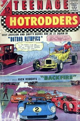 Teenage Hotrodders #15 1965 VG Stock Image Low Grade
