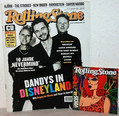 ROLLING STONE Nr.9 / 2001 mit CD - Depeche Mode