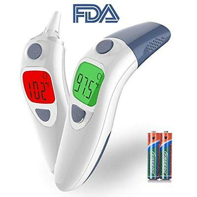 Baby Thermometer, Clinical Tested Infrared Forehead and Ear Thermometer Digital