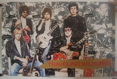 The Traveling Wilburys Affiche George Harrison Roy Orbison Bob Dylan Wilbury's