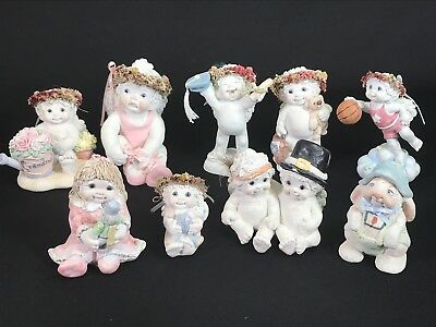 Lot of 9 Cast Art Dreamsicles Figurines