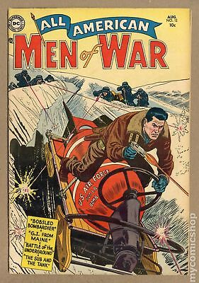 All American Men of War #12 1954 VG 4.0
