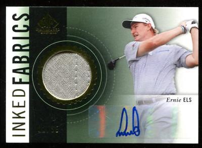2013 2014 SP Game Used Inked Fabrics Ernie Els Autograph 02/35 Auto The Big Easy