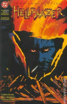 Hellblazer #45 1991 VF Stock Image