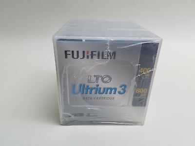 New Fujifilm LTO3 LTO Ultrium 3 400GB/800GB Data Tape Cartridges