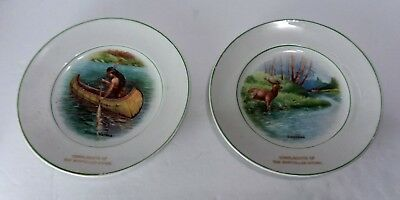 Mosteller Department Store West Chester PA Porcelain Scenic Plates