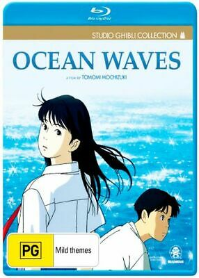 NEW Ocean Waves (Studio Ghibli Collection) Blu Ray Free Shipping
