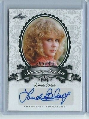 Linda Blair 2013 Leaf Pop Century Stunning Starlets Autograph Auto Exorcist