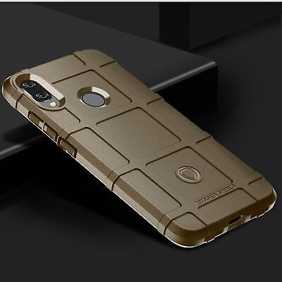For Xiaomi Redmi Note 7, Strong Shockproof Rugged Shield Armor Soft Case Cover