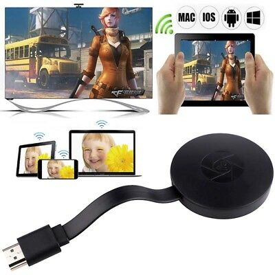 HD 1080P TV Media Chromecast 2nd Generation WiFi HDMI Video Digital Streamer NEW