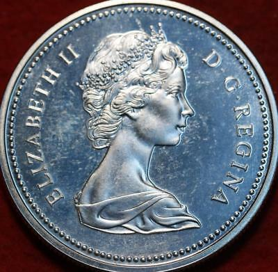 Uncirculated 1971 Silver Canada British Columbia $1 Foreign Coin