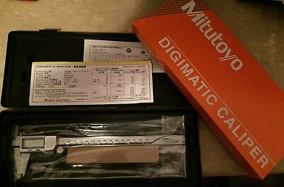 New! Mitutoyo 500-753-20 Absolute Digital coolant proof Caliper, 0-8in/200mm