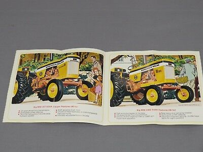 Minneapolis Moline Jet Star 3 U302 SUPER Tractor Sales Brochure Catalog 1966