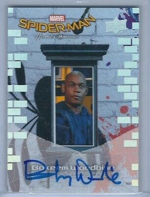 Bokeem Woodbine Autograph Auto 2017 Ud Spiderman Homecoming