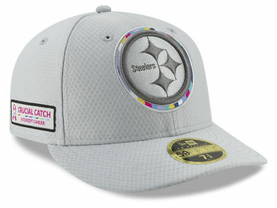 uk availability 82089 b7c9f New Era Pittsburgh Steelers Low Profile 59Fifty Crucial Catch NFL Hat  Intercept