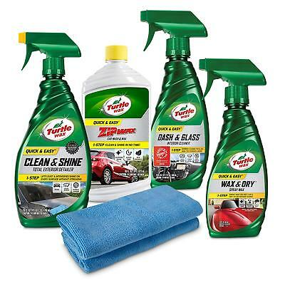 Turtle Wax 50821 Quick & Easy Complete Car Kit, 91. Fluid_Ounces