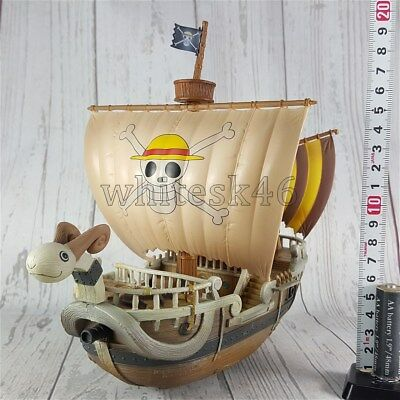 Ship Going Merry Grandline Real Paint One Piece Anime Manga Authentic /5993
