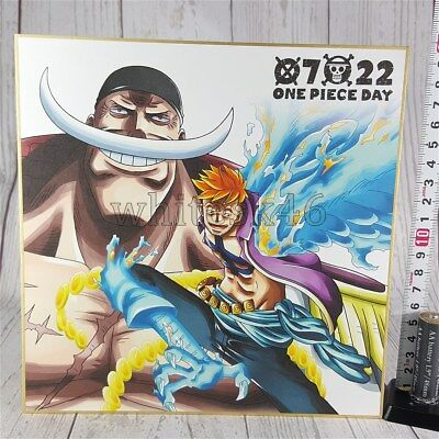 Edward Marco Ichiban-Kuji Art Shikishi One Piece Day Anime Manga /6022