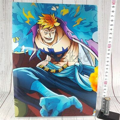 One Piece Marco Ichiban-Kuji Art Clear File Anime Manga /6016