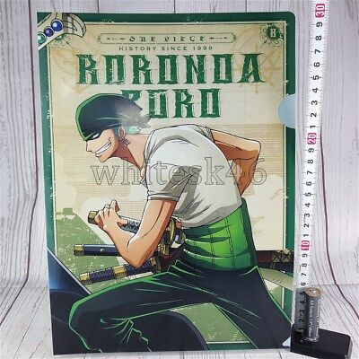 One Piece Roronoa Zoro Ichiban-Kuji Art Clear File Anime Manga /6005