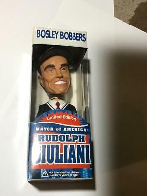Rudolph Giuliani Mayor Of America Bosley Bobble FDNY Bobblehead NYC New York