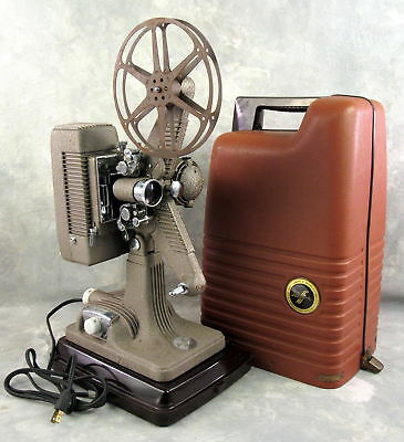 Vintage Revere 16mm Projector Model 48 with Case still Works
