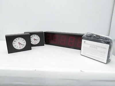 ESE ES-943U Time Code Display (Qty 1) LX-5105 Analog Time Code Slave (Qty 3)