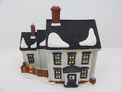 Dept 56 New England Village - Jannes Mullet Amish Farm House 59439 Retired Mint
