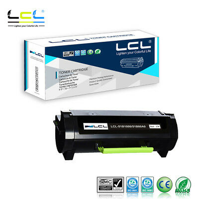 LCL Compatible Toner for Lexmark 51B1000 51B00A0 MS317DN MS417DN (1-pack,Black)