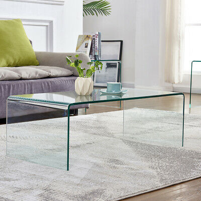 Tempered Gl Coffee Table Accent End Side Tail