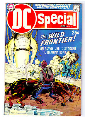 DC SPECIAL #6 in VF condition a Silver Age DC 1970 comic THE WILD FRONTIER