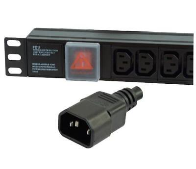Lms Data 8 Way Horizontal Power Distribution Unit PDU Iec-14 Input & 10a Rating