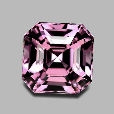 1.70Cts Gorgeous Radiant Cut Natural Purple Pink Spinel Video In Description