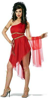 Roman Beauty Ruby Goddess Of Love Queen Of Sparta Empress Costume Adult Womens