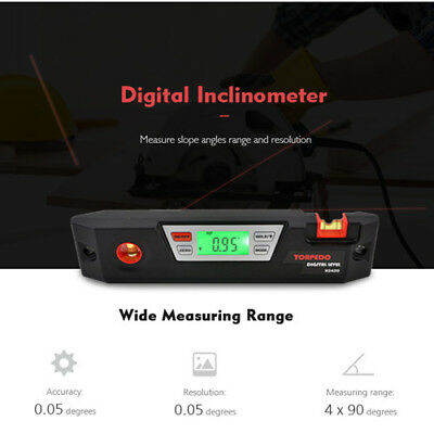 Electronic Digital Level Angle Gauge Finder Level Inclinometer Measuring Tool