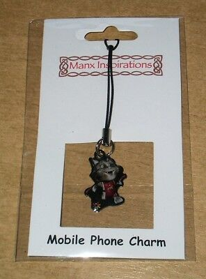 Tosha The Cat Isle Of Man Commonwealth Games Mascot Charm - £2 Coin Collector?