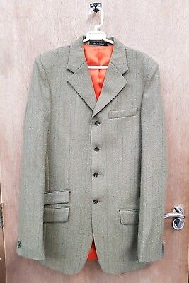 New ** The Vintage Tack Room **light Sage Mens Rutland Tweed Show Jacket  40""