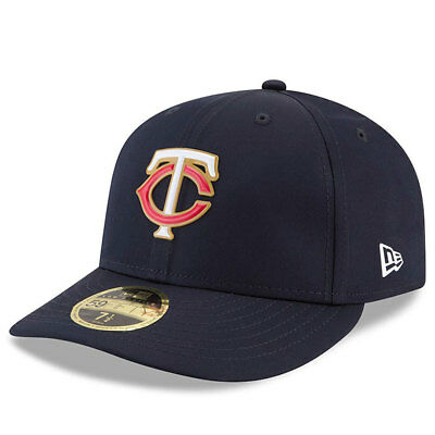 Minnesota Twins New Era Low Profile MLB Prolight Fitted Cap Size - 7 3/8