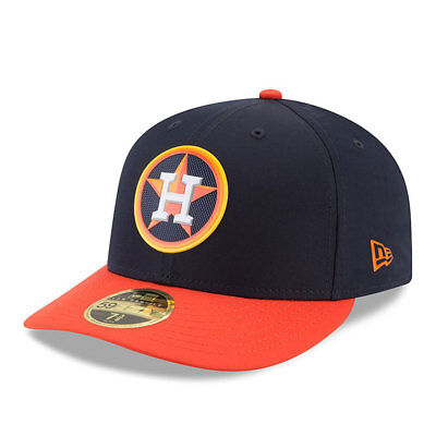 Houston Astros New Era Low Profile MLB Prolight Fitted Cap Size - 7 3/8
