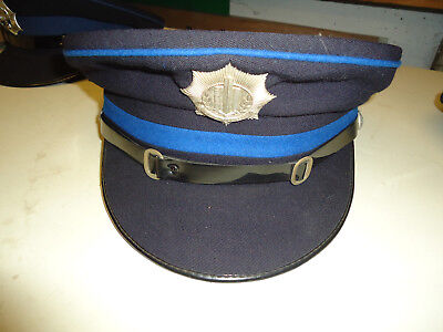 ancienne casquette police nederland