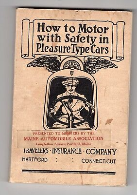 1920 How To Motor With Safety in Pleasure Type Cars